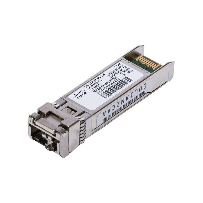 Mini GBIC Transceiver Refurbished CISCO DS-SFP-FC8G-SW SFP+, 10-2418-02