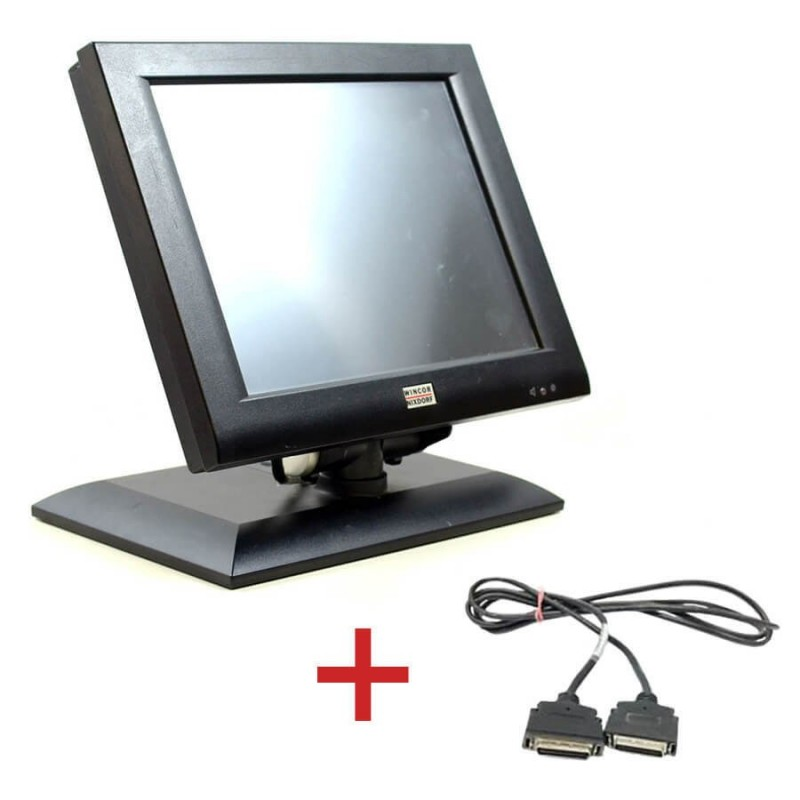 Monitoare Touch BA73A-2, IR-Touch, 15 inch + Cablu Special Plink Wincor