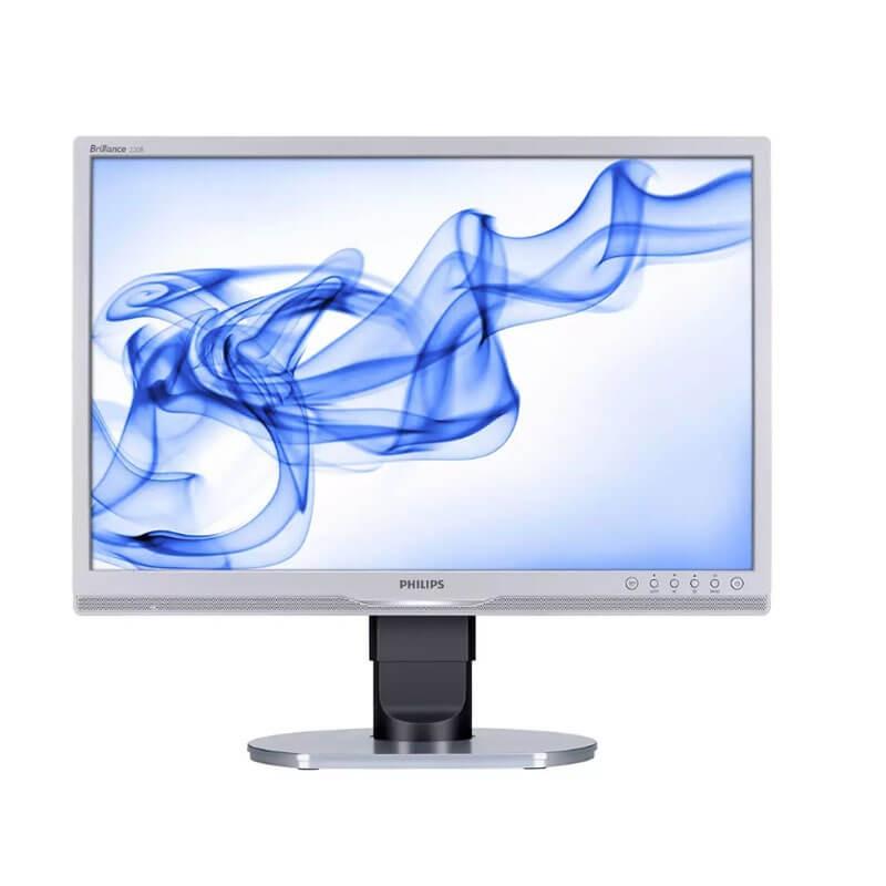 Monitor LCD Refurbished Philips Brilliance 220B1CS, 22 inch Widescreen