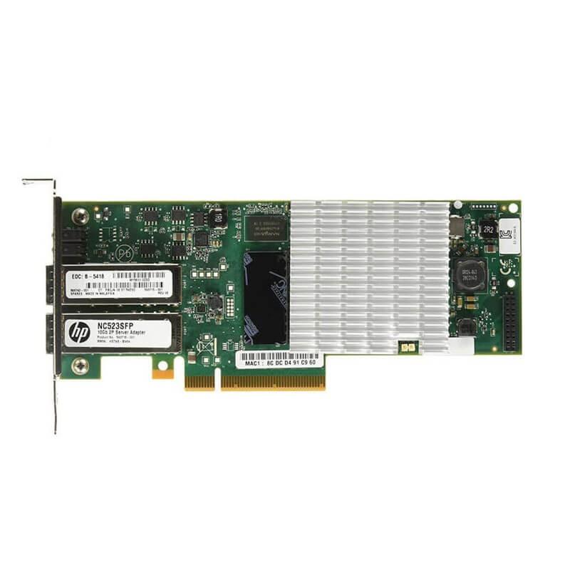 Placi de Retea Refurbished HP QLE3242 Fibre Channel Dual Port 10Gbps
