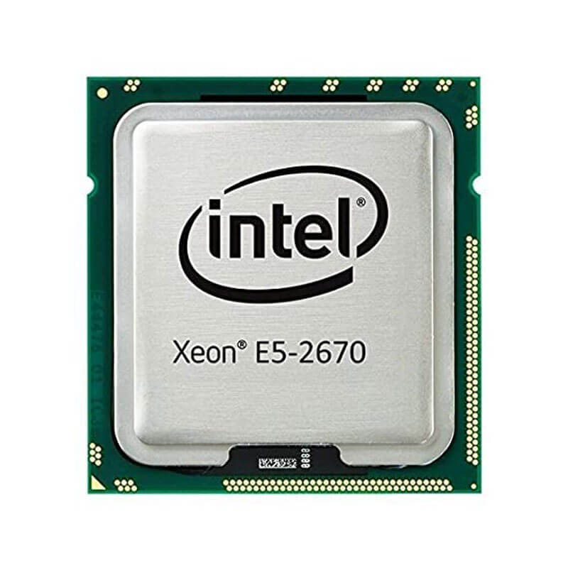 Procesoare Refurbished Intel Xeon Octa Core E5-2670, 2.60GHz, 20Mb Cache