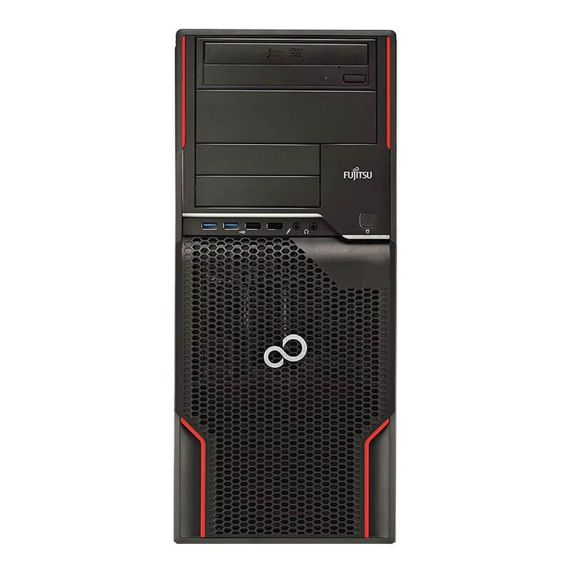 Statie grafica second hand Fujitsu CELSIUS W520, Xeon Quad Core E3-1230 v2, GeForce 605 DP